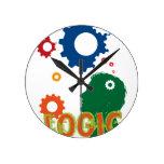 Thinking Round Clock