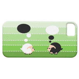 thinking sheep iPhone SE/5/5s case