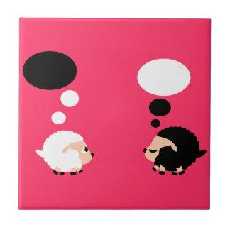thinking sheep tiles