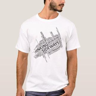 Thinking Sideways Catchphrases T-Shirt