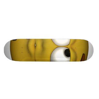 Thinking. Skateboard Deck
