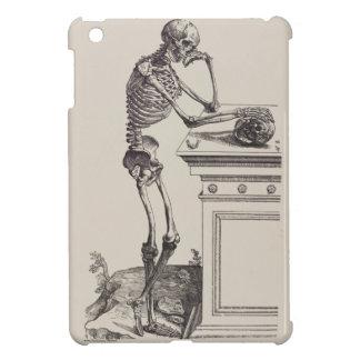 Thinking Skeleton iPad Mini Cases