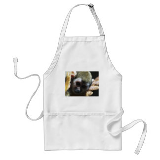 """""""Thinking..."""" Squirrel Monkey Gifts Apron"""