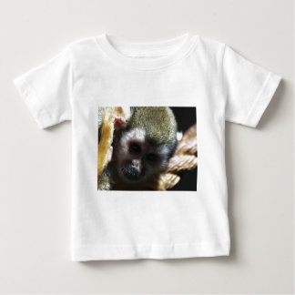 """""""Thinking..."""" Squirrel Monkey Gifts Baby T-Shirt"""