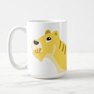 Thinking Tiger Coffee Mug