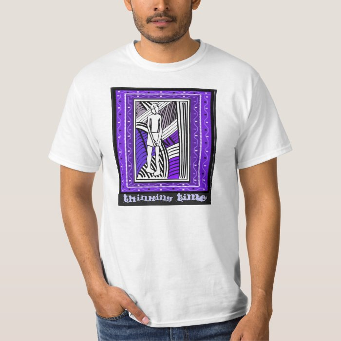 Thinking time - Aftrican Art T-Shirt