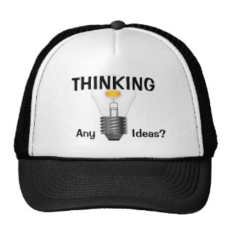 Thinking Trucker Hat