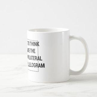 Thinking Way Outside the Box. Coffee Mug