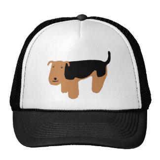 Thinking Welsh Terrier Trucker Hat