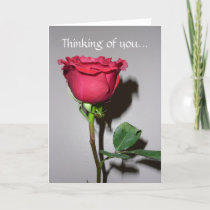 Thinking you... card