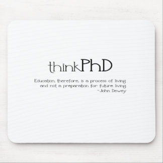 thinkPhD Mouse Mats