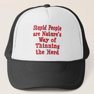 Thinning the Herd Trucker Hat