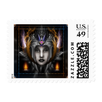 Thinosia Queen Of Armageddon Postage Stamp