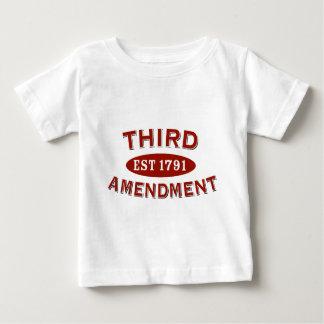 Third Amendment Est 1791 Baby T-Shirt
