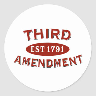 Third Amendment Gifts on Zazzle