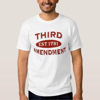 Third Amendment Est 1791 Shirt