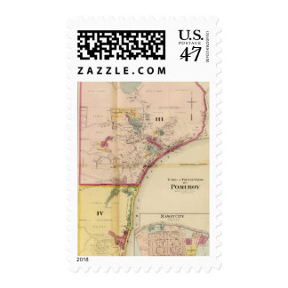 Third and fourth wards of Pomeroy Postage