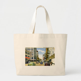 Third Avenue and Pike, Seattle, Washington Tote Bag