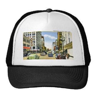 Third Avenue and Pike, Seattle, Washington Trucker Hat