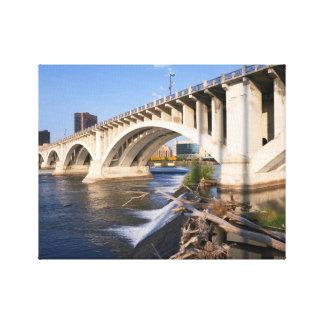 Third Avenue Bridge in Minneapolis Canvas Print