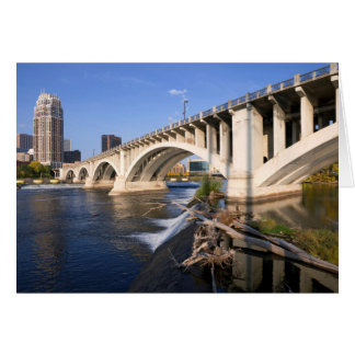 Third Avenue Bridge in Minneapolis Card