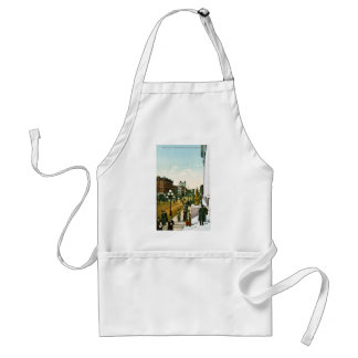 Third Avenue, from Post Office, Seattle,Washington Adult Apron