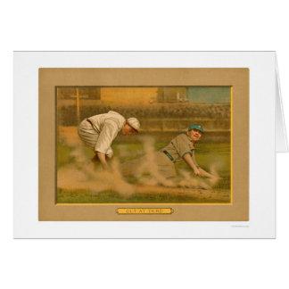 Third Base Play Baseball 1911 Card