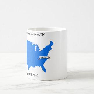 Third Battle of Athens, TN. Classic White Coffee Mug