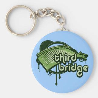 third bridge. green&forest. keychain