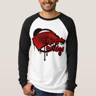 third bridge. red&black. T-Shirt