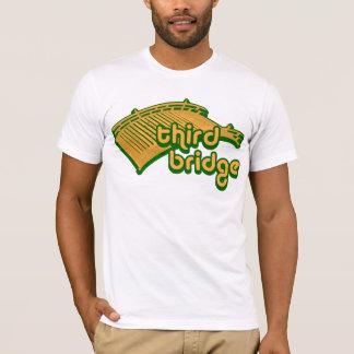 third bridge. yellow&green. T-Shirt