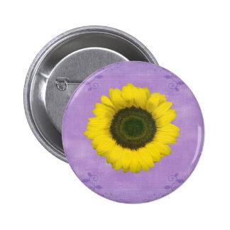 Third Chakra Gift 2 Inch Round Button