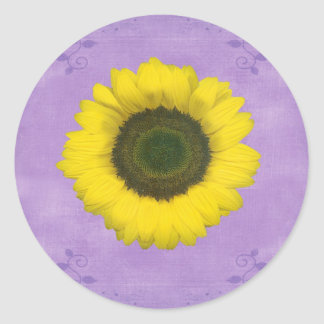 Third Chakra Gift Classic Round Sticker