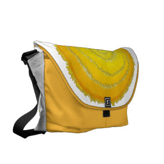 Third Chakra Healing Art 2 Courier Bag