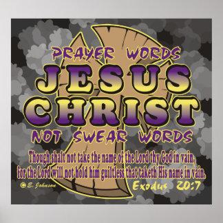 Third Commandment Poster
