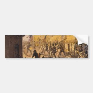 Third Day of the Siege of Monterrey Sept 23rd 1846 Bumper Sticker