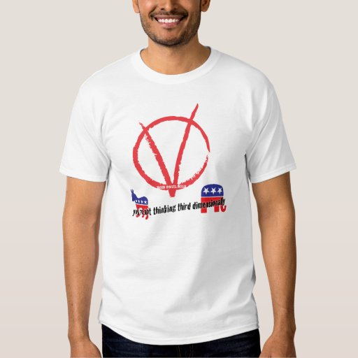 third dimension t-shirt
