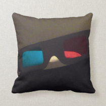 Third Dimension Throw Pillow
