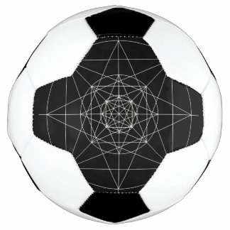 Third Dimensional Sacred Geometry Soccer Ball