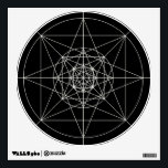 """Third Dimensional Sacred Geometry Wall Sticker<br><div class=""""desc"""">Forged By Lord_Grixis</div>"""