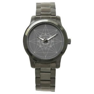 Third Dimensional Sacred Geometry Wristwatch