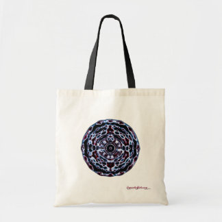 Third Eye and Crown Chakra Frequency Tote Bag