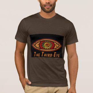 Third Eye - Black Print with Caption by Manda T-Shirt