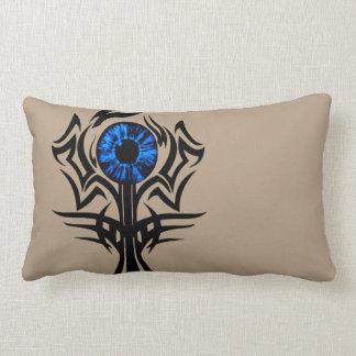 Third Eye blue Lumbar Pillow
