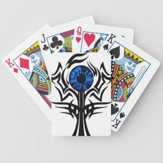 Third Eye blue Bicycle Playing Cards