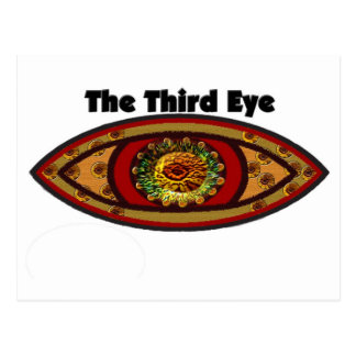 Third Eye by Manda Postcard