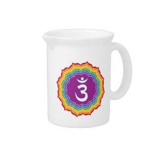 Third Eye chakra Beverage Pitcher