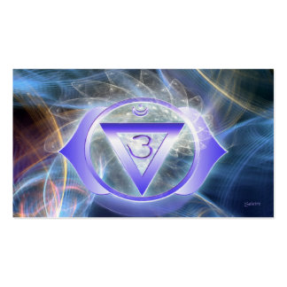 Third Eye Chakra Double-Sided Standard Business Cards (Pack Of 100)