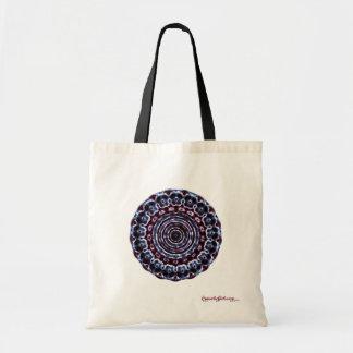 Third Eye Chakra Cymatics Tote Bag