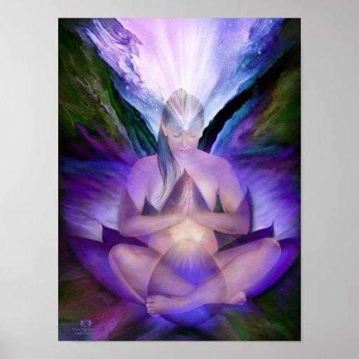 Third Eye Chakra Goddess Fine Art Poster/Print